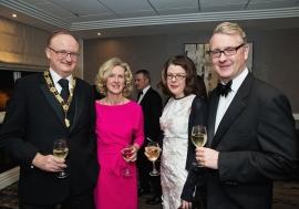 Society of Chartered Surveyors Ireland annual Dinner 2015.