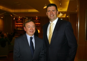 Vincent Hickey, Chair of the Property and Facilities Management Professional Group and Niall Quinn