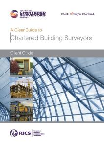 A Clear Guide to Chartered Building Surveyors