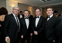 L-R: Peter Bastable, Paul Muldoon, Eunan (Rocky) O'Carroll, Tim Forde.