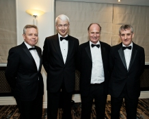 L-R:Paul McDonnell, Bank of Ireland, Peter Collins, Kennedy Wilson, Robert Conlan, Investor and Michael Neary, Property Arbitrator