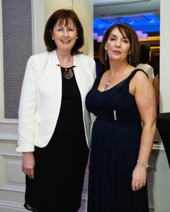 L-R: Maeve Hogan, CEO PSRA and Patricia Byron, Director general SCSI.