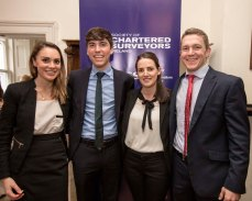 Natalie McDowell, Fiachra Sudway, Maria Barbour and Conor Mullen