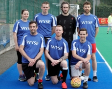 The WYSE TEAM Ltor BAck Row. Clara Connolly,Liam O Connor,Russell Flemming,Barry Sullivan Front Row Lto R Chris Coleman,Chris Moran, Paddy O Donnell.