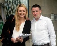 Zara Walsh ( Pres ) & Colin (Ex Pres)