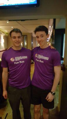 Left to right Ruairi Mallon and Niall Fergus