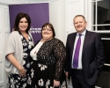 Áine Myler, SCSI Director General, Kay Maguire, Galway Property Services and Des O'Broin, Second Vice President, SCSI.