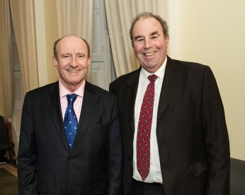 In photo L to R Tom Dunne and Michael Kelly