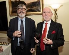 In photo L to R Kevin Sheridan and Muiris De Buitleir