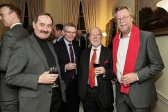 In photo L to R Paddy Prendergast, Greg Flynn, Muiris De Buitleir and Liam Murphy