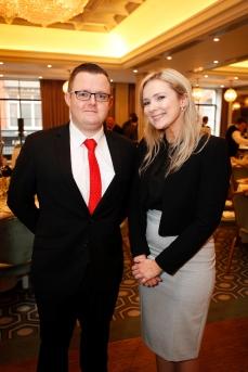Paddy Gray and Sandra McManus from Savills