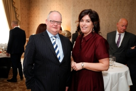 Ronan O'Hara and Áine Myle