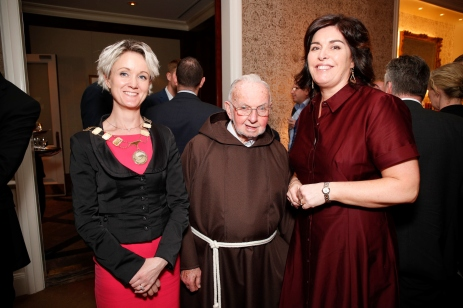 Claire Solon, Brother Kevin and Áine Myle