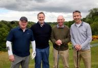 Peter Linstry, Pat Winters, John Henery, Peter Molloney ( Burlington Engineering)