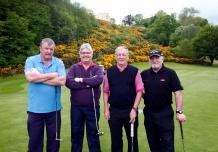 Joe Collopy, Des Leech, Tony Harrison, Joe Wheelan ( Securatas )