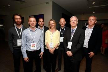 Niall Manley, Arthur Hanley, Enda Burke, Alison McDonnell, David Linehan, Finbar McDonnell and Enda McDonnell