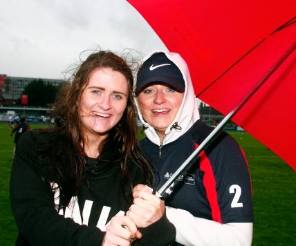 Cushman Wakefield Supporters L to R. Ciara Wolohan & Rebecca Headon