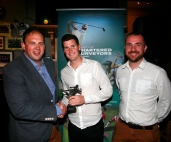 Male of the Tournament, Peter Love of Cushman & Wakefield