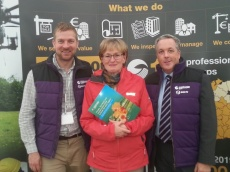 Patrick King, SCSI, Mairead McGuinness MEP, Colin Bray, SCSI