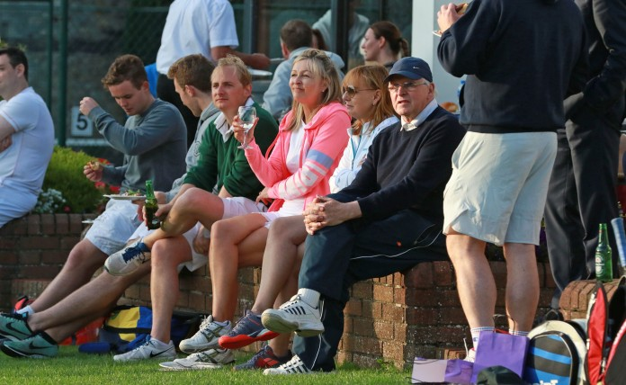 30/08/2017 - PROPERTY - Image from the 2017 SCSI Irish Times Tennis Tournament 30th August in Donnybrook Tennis Club. GV from the event. Photograph Nick Bradshaw