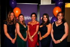 Margerat Galvin, Bronagh Smyth,, Riona Mc Caughy, Eimer Dunne, Bridie Cafferty all Knight Frank